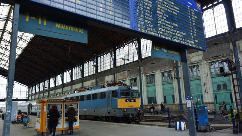 train budapest