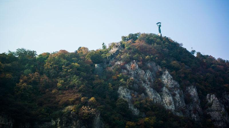climb gellert hill